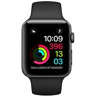 Apple Watch Series 1 38mm Space Grey Aluminium Case with Black Sport Band - Smartwatch
