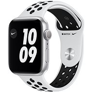 Apple Watch Nike Series 6 40mm Silver Aluminium with Platinum / Black Nike Sport Strap - Smartwatch