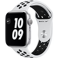 Apple Watch Nike Series 6 44mm Silver Aluminium with Platinum / Black Nike Sports Strap - Smartwatch