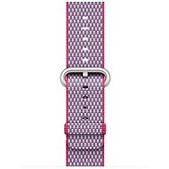 Apple 38mm Raspberry-Blue of Woven Nylon (with Stitching) - Watch band