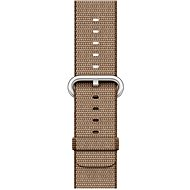 Apple 42mm Toasted Coffee/Caramel Woven Nylon - Strap