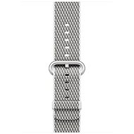 Apple 42mm White Check Woven Nylon - Watch band