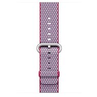 Apple 42mm Berry Check Woven Nylon - Watch band