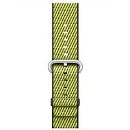 Apple 42mm Dark Olive Check Woven Nylon - Watch band