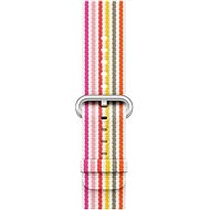 Apple 42mm Pink Stripe Woven Nylon - Watch band