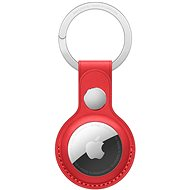 Apple AirTag Leather Keychain (PRODUCT) RED - Keyring