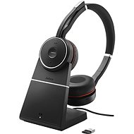 Jabra Evolve 75 Duo + Charging Stand - Headset