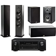 DENON AVR-X540BT AV Receiver + Polk Audio T50 + T30 + T15 - AV receiver