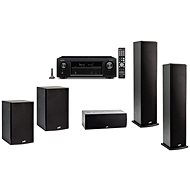DENON AVR-X1400H + 5.1 Speaker Polk Audio T50 + T30 + T15 - Set