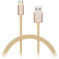 CONNECT IT Wirez Premium Metallic micro USB 1m gold - Data cable