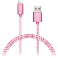 CONNECT IT Wirez Premium Metallic micro USB 1m rose - Data cable