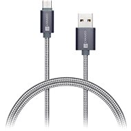 CONNECT IT Wirez Premium Metallic USB-C 1m silver grey