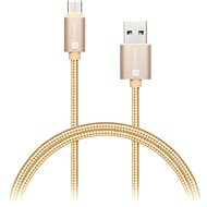 CONNECT IT Wirez Premium Metallic USB-C 1m gold - Data cable