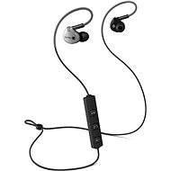CONNECT IT Wireless Sport Sonics anthracite - Headphones with Mic