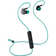 CONNECT IT Wireless U-BASS Turquoise - Headphones with Mic
