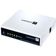 CONNECT IT CI-114 Switch 5 port - Switch