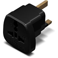 CONNECT IT UK/IRL Power Adapter Black - EU - UK/IRL Adapter