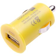 CONNECT IT InCarz Charger 1XUSB 2.1A Yellow - Car Charger