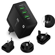 CONNECT IT Nomad2 WorldTravel black - Charger