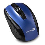 CONNECT IT CI-1225 Blue - Mouse