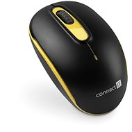 CONNECT IT CMO-1000-YL Yellow - Mouse