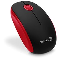 CONNECT IT CMO-1500-RD Red - Mouse