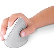 CONNECT IT Vertical Ergonomic Wireless white - Mouse