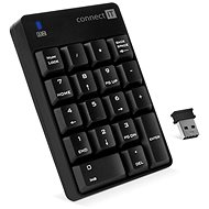 CONNECT IT NumCALC CKB-0061-BK, Black - Numeric Keypad