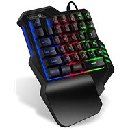 CONNECT IT BATTLE RNBW Single Hand - Gaming Keyboard