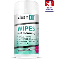 CLEAN IT Wet cleaning wipes for plastics 100pcs