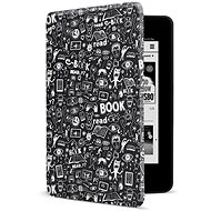 CONNECT IT CEB-1043-BK for Amazon NEW Kindle Paperwhite 2018, Doodle black