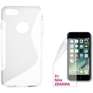 CONNECT IT S-Cover iPhone 7 clear - Mobile Phone Case