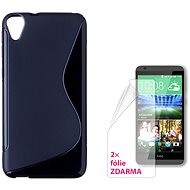 CONNECT IT S-Cover for HTC Desire 820 black - Mobile Phone Case