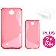 CONNECT IT S-Cover for HTC DESIRE 300 red - Mobile Phone Case