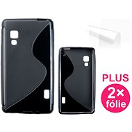 CONNECT IT S-Cover LG Optimus L5 II (E460) black - Mobile Phone Case