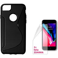 CONNECT IT S-COVER for Apple iPhone 8 Plus black - Protective Case
