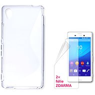 CONNECT IT S-Cover Sony Xperia M4 Aqua clear - Mobile Phone Case
