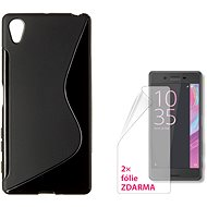 CONNECT IT S-Cover Sony Xperia X black - Protective Case
