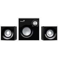 Genius SW-2.1 370 Black - Speakers