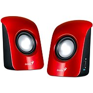 GENIUS SP-U115 red - Speakers