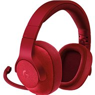 Logitech G433 Surround Sound Gaming Headset Red - Gaming Headset