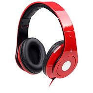 Gembird Detroit Red - Headphones with Mic
