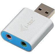 Adapter I-TEC USB 2.0 metal mini audio - Redukce