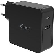 I-TEC USB-C Charger 60W + USB-A Port 12W - Universal Power Adapter