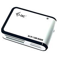 Card Reader i-TEC USB 2.0 All-in One reader black and white - Čtečka karet