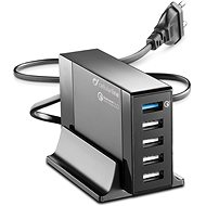Cellularline Energy Station QC 4x USB, Qualcomm Quick Charge 3.0 max 50W black - Charger