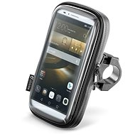 "Cellularline Interphone SMART for Phones up to 6.0"" - Black - Mobile Phone Case"