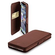 CellularLine Book Clutch for Samsung Galaxy S10 Brown - Mobile Phone Case