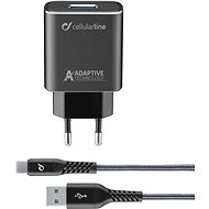 Cellularline Tetra Force USB-C 15W black - Charger