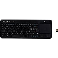 Trust Veza Wireless Touchpad Keyboard CZ+SK - Keyboard